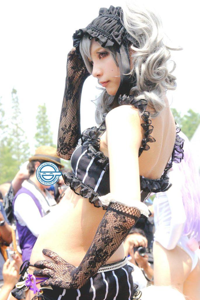 神崎蘭子のエロコス画像 09