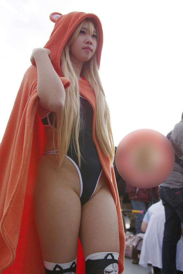 コスプレ+スク水・競泳水着の組み合わせがエロい! 03