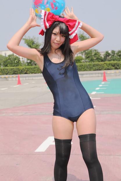 コスプレ+スク水・競泳水着の組み合わせがエロい! 15