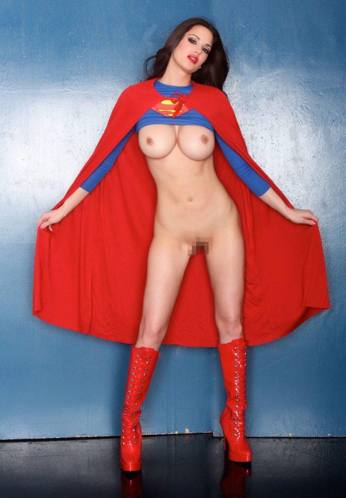 スーパマン(女性) スーパーガールのコスプレ画像 21