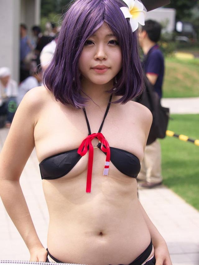 チラリズムでエロい 下乳が見えているコスプレ画像まとめ 09
