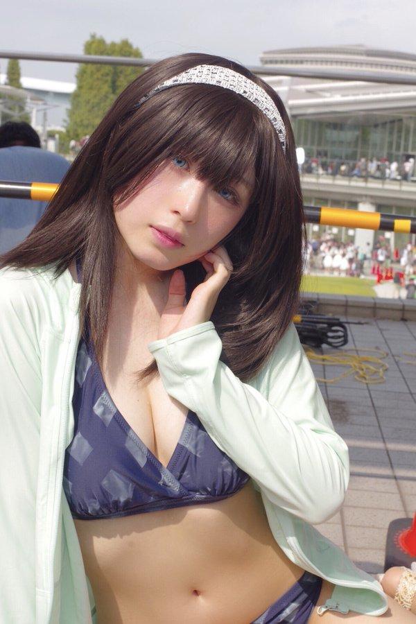 アイドルマスターシンデレラガールズ 鷺沢文香のエロいコスプレ画像まとめ 15