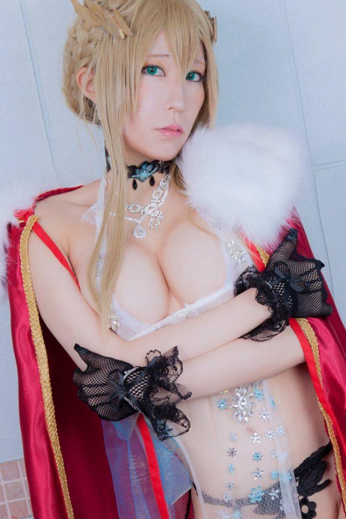 ドスケベ礼装 ロイヤル・アイシングのエロいコスプレまとめ 12