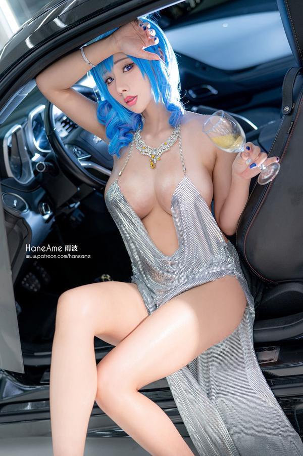 アズールレーン セントルイス Luxury Handle衣装のエロいコスプレ 10