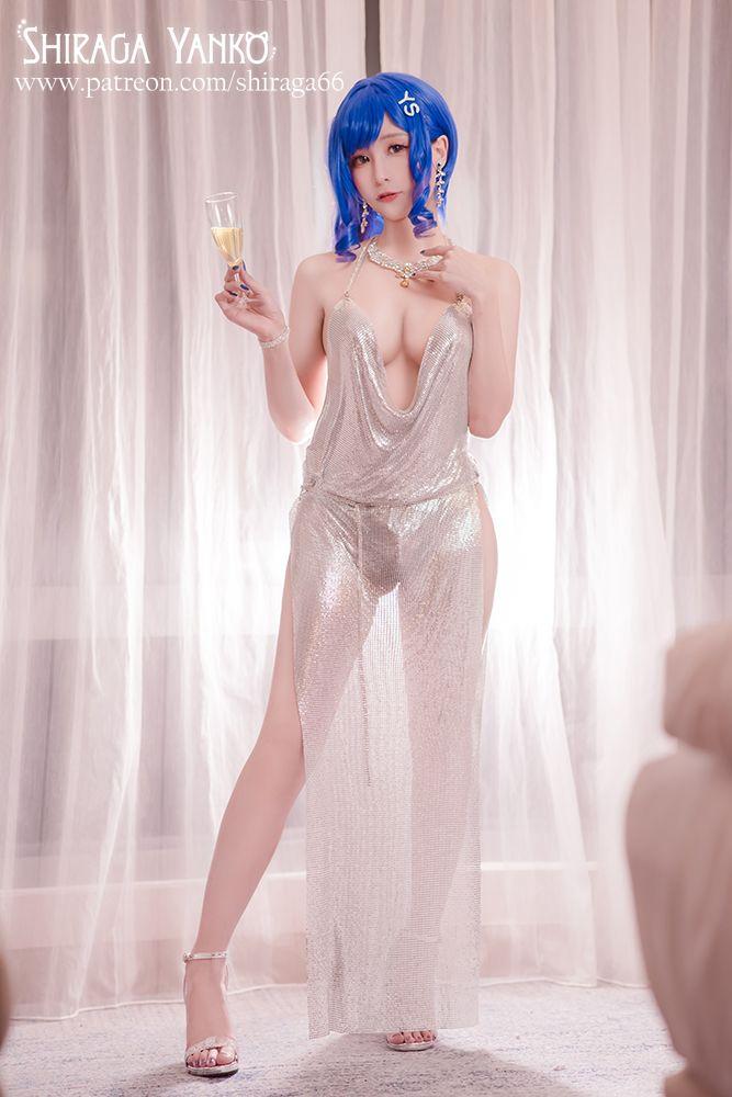 アズールレーン セントルイス Luxury Handle衣装のエロいコスプレ 17