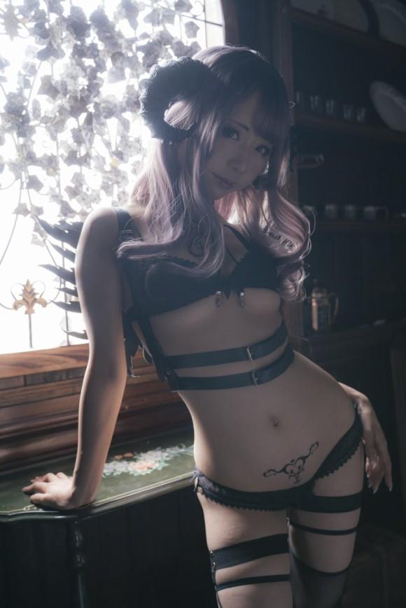 淫紋が刻まれているエロいコスプレまとめ Vol.2 18